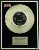 "DAVE CLARK FIVE -7"" Platinum Disc- CATCH US IF YOU  CAN"